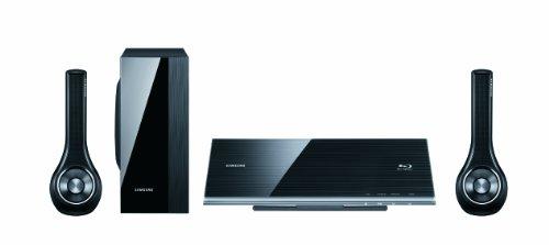 Samsung HT-D7000 3D-Blu-ray-Heimkinosystem (400 Watt, HDMI, USB, WLAN, iPod) perlschwarz