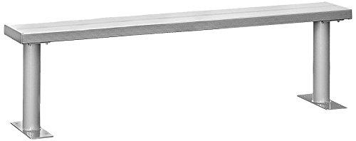 Salsbury Industries Aluminio Locker Bancos, 36-Inch
