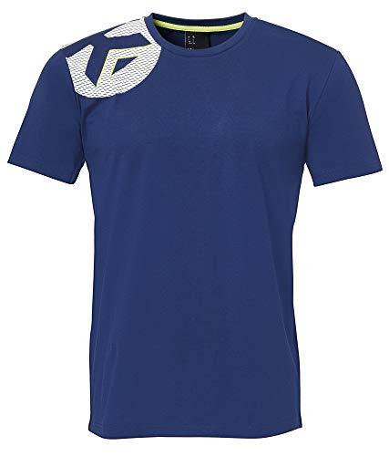 Kempa Kinder CORE 2.0 T-Shirt, deep blau, 116