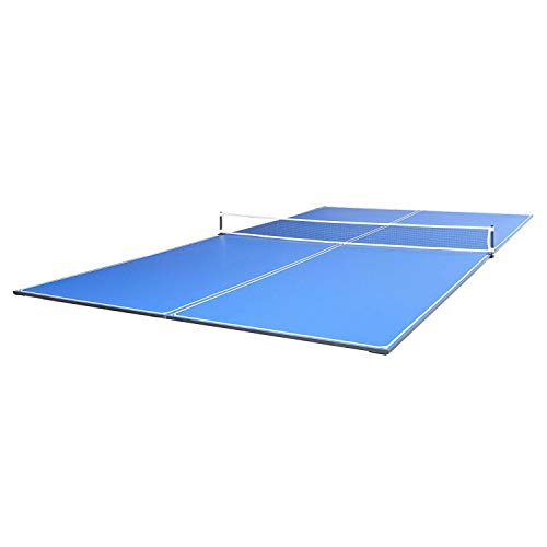 JOOLA Tetra - 4 Piece Ping Pong Table Top for Pool Table