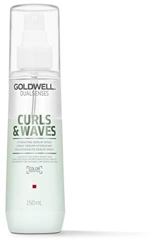 Goldwell Dualsenses Curls & Waves Hydrating Serum Spray - für lockiges und gewelltes Haar, 150 ml