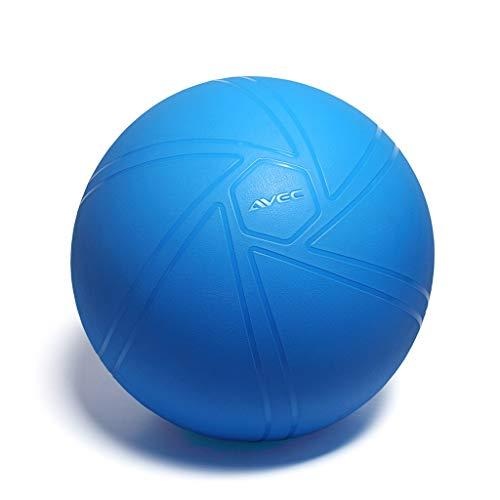 TangMengYun Yoga Ball Verdickung explosionsgeschützte Fitness Ball Stuhl Schwangere Frauen Geburtshilfe Lieferung Gewichtsverlust Ball (Color : Blue, Größe : 75cm)