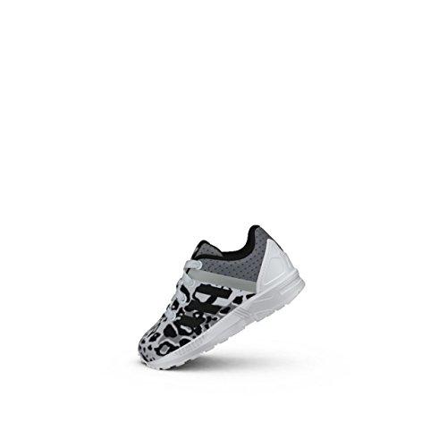 Adidas - Adidas Zx Flux Split El I Kinder Sportschuhe Weiss Textil S78807 - Weiss, 21