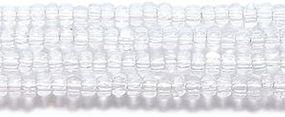 Preciosa Ornela Czech Seed Bead, True Cut Crystal, Size 11/0