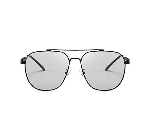 Zon HD gepolariseerde zonnebril voor mannen vrouwen Anti-UVA Anti-UV Fietsen Riding vissen outdor Zonnebril met Kleurveranderende Spiegel Zonnebril intelligente kameleon bril