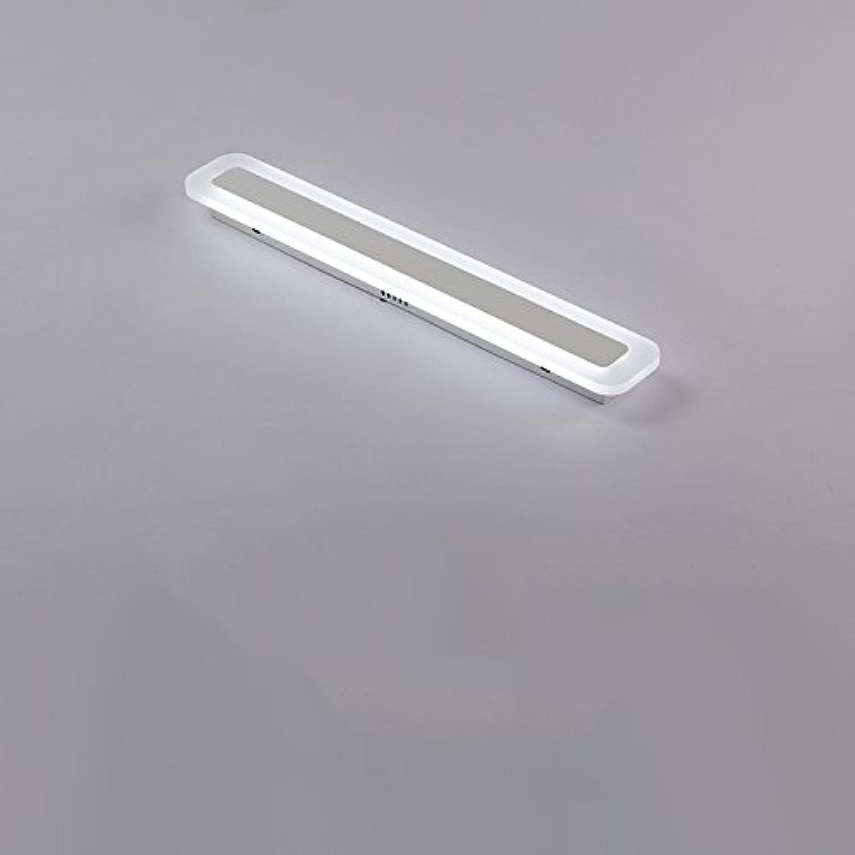 GuoShop- Warmes Licht, weies Licht Modern Einfache LED Lange Tag Laterne Gang Eingang Deckenleuchte (Farbe   Weies Licht-50  9cm)