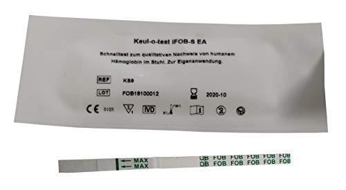 Günter Keul Gmbh Keul-o-test iFOB/Darmkrebsvorsorge Stuhltest / 1x Schnelltest Kassette