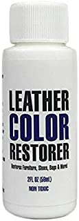 Leather Hero Leather Color Restorer & Applicator- Refinish, Repair, Renew Leather & Vinyl Sofa, Purse, Shoes, Auto Car Seats, Couch 2oz (Black)