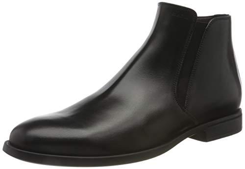 Geox Herren U DOMENICO C Chelsea Boot, Black, 45 EU