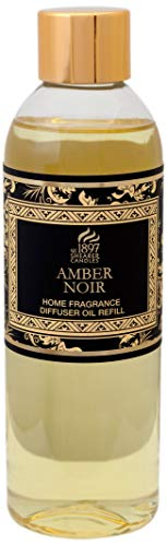 Shearer Candles Amber Noir 200ml Scented Reed Diffuser Refill, Transparent