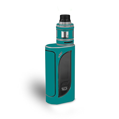 MightySkins Skin Compatible with Eleaf iKonn 220 - Solid Teal | Protective, Durable, and Unique Vinyl Decal wrap Cover | Easy to Apply, Remove, and Change Styles | Made in The USA