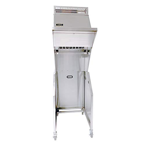 HOODMART Portable Pressure Fryer Ventless Hood System - Includes Ansul R-102 Fire Suppression