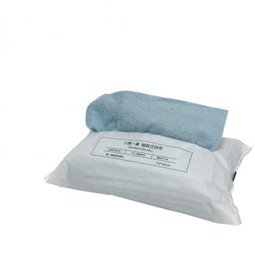 QQY Paño de limpieza mágico de microfibra, una toallita se puede reutilizar durante 1 – 2 semanas, paños de limpieza antibacterianos sin químicos, bolsa azul de 20 (22 x 22 cm)