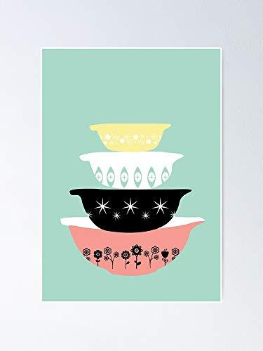 AZSTEEL Pyrex Pretties Poster Poster 11.7 * 16.5