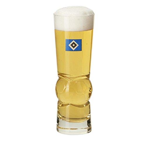 Hamburg SV Bierglas Fußball, Pilsglas, Glas HSV - Plus Lesezeichen I Love
