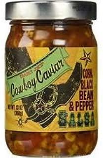 Trader Joe's Cowboy Caviar Corn Black Beans & Pepper Salsa 13 oz (Pack of 3)