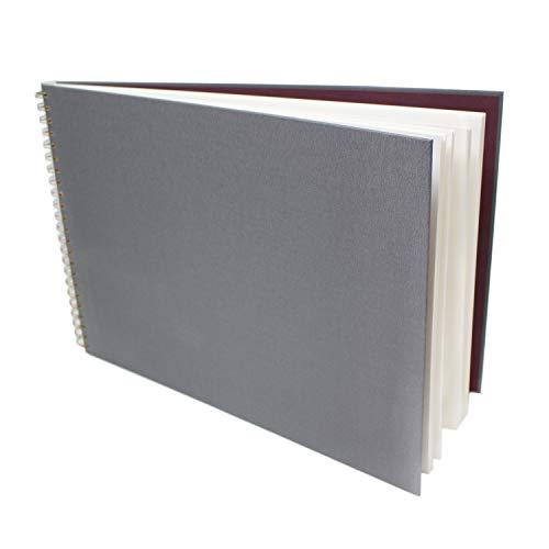 Artway Cuaderno de bocetos A3, gris, horizontal