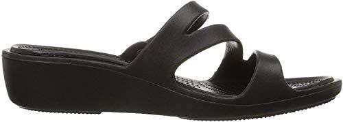 Crocs Patricia Damen Sandalen, Schwarz (Black/Black), 42-43 EU (W11)