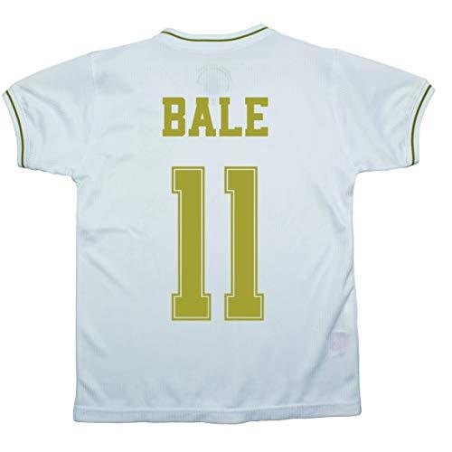 Champion's City Kit Trikot und Hose für Kinder, Erstausrüstung, Real Madrid, offizielles Replikat 10 Jahre 11 - Gareth Bale
