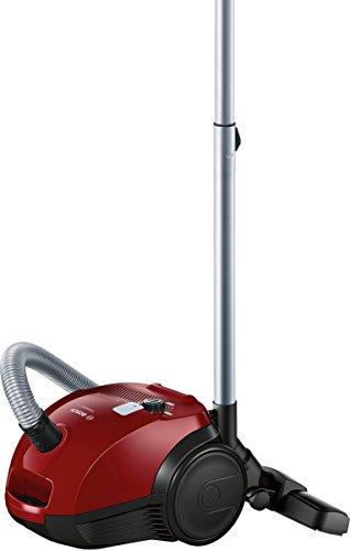 Bosch BZGL2A310 Aspirapolvere a Carrello con Sacco Compaxx'x, Rosso Nero