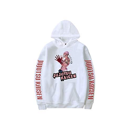 LOKKSI Hip Hop - Sudadera con capucha para hombre y mujer, estilo callejero XXS-4XL