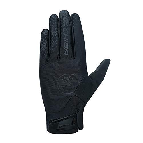 Chiba BioXCell Touring Fahrrad Handschuhe lang schwarz 2021: Größe: M (8)