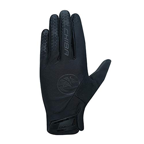 Chiba BioXCell Touring Fahrrad Handschuhe lang schwarz 2021: Größe: L (9)