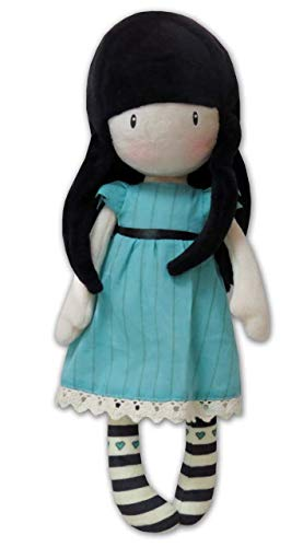 Gorjuss M-05-G Muñeca de Trapo en Display - I Stole Your Heart, 30 cm