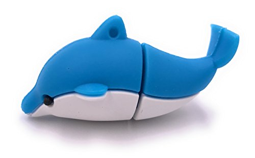 H-Customs Wal Delfin Fisch USB Stick 8GB 16GB 32GB USB 2.0/8 GB