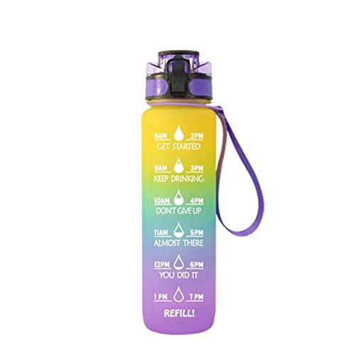 YUY Space Cup Taza Helada Olla De Gran Capacidad Botella para Deportes Al Aire Libre Taza Que Acompaña,B