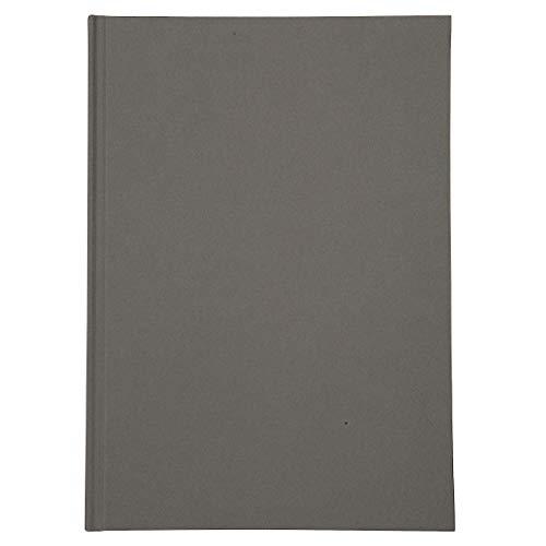 無印良品 ハードカバーアルバム KGサイズ2段・20ページ・ダークグレー 18613328