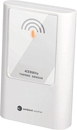 Ambient Weather TX-8300 Wireless Thermometer for WS-8365 and WS-8400 Projection Clock