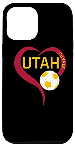 iPhone 12 Pro Max Salt Lake Utah Jersey Royals American Soccer Fan Love Heart Case