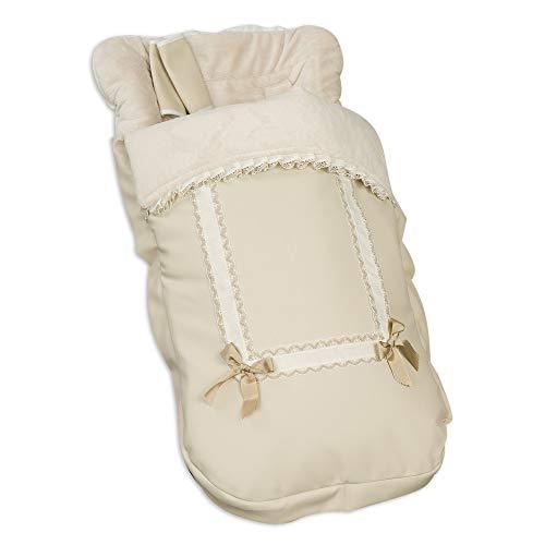 Babyline 2000666 - Saco Silla Leather Beige 666