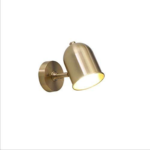 Wandlamp hoek van ijzer, buigzaam, verstelbare richting, sfeervolle sfeer, creatieve constructie, ideaal decoratie 21 x 14 cm wandlamp