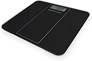 Orbegozo PB 2219 - Báscula de baño, activación mediante el tacto, apagado automático, indicador de sobrecarga y batería baja, pantalla LCD, capacidad máx. 180 kg, funciona a pilas