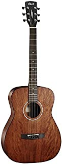 Cort Standard Series AF510 Acoustic Guitar, Concert Body, All Mahogany