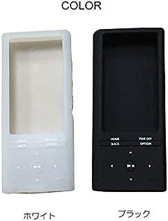 SONY NW-ZX100 ケース 耐衝撃 シリコンケース NW-ZX100 背面カバー ソフトケース WALKMAN  NW-ZX100-SG-W51102 (ブラック)