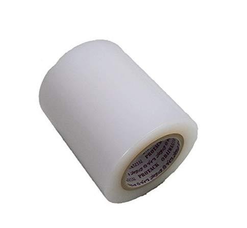 [フェアリーテール]マスキングテープ 養生フィルム 養生 テープ 表面保護フィルム 表面保護テープ (透明, 幅10cm 長さ100m)