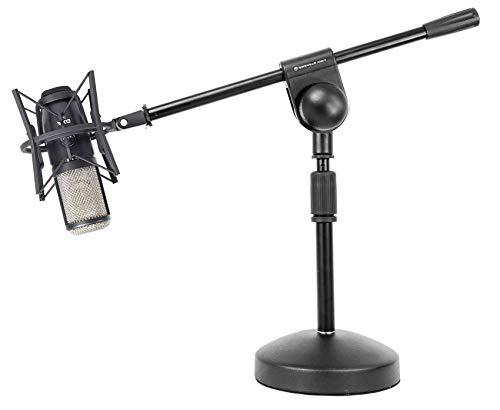 AKG P420 Studio Condenser Recording Podcasting Microphone+Shockmount+Boom Stand