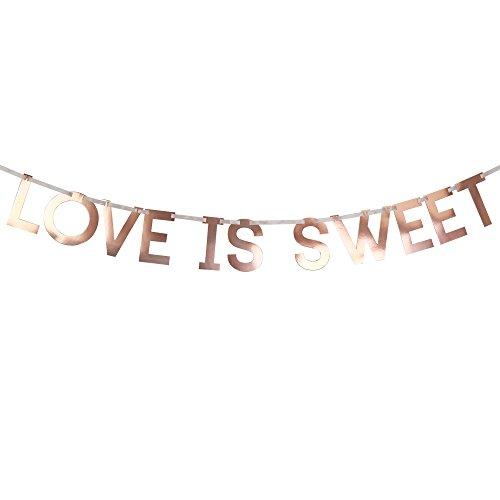 Neviti–Geo Blush–Girlande für das Süßigkeiten-Buffet