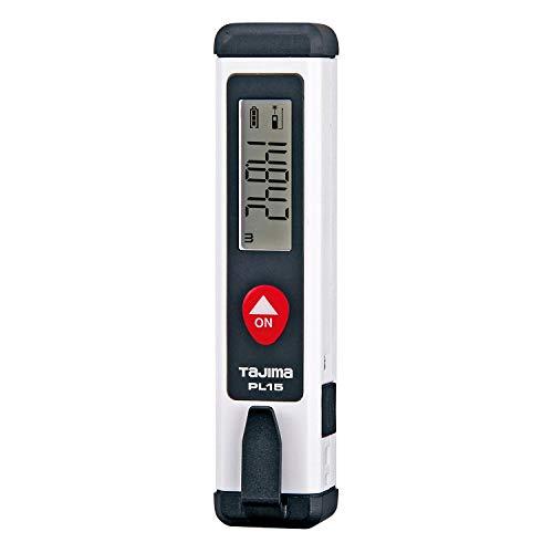 タジマ(Tajima) レーザー距離計 ホワイト PL15