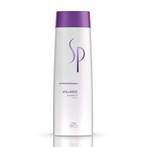 Wella Sp Volumize Shampoo Champú - 250 ml