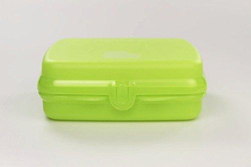 TUPPERWARE Sandwichera Caja verde
