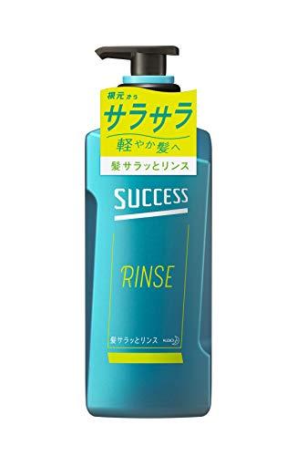 サクセス 髪サラッと リンス 本体 400ml きしみを抑えてサラサラ髪に アクアシトラスの香り