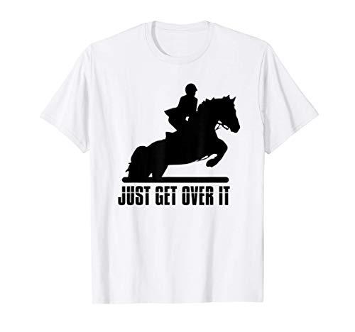 Equitación inglesa Cazador Salto Caballo Camiseta