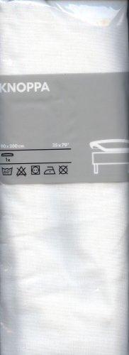 Spannbettlaken Knoppa 90 x 200 cm von Ikea