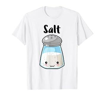 Kawaii Salt Pepper Halloween Costume Best Friend Shirts