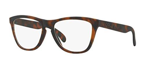 Oakley RX Frogskins Monturas de gafas, Marrón, 55 Unisex