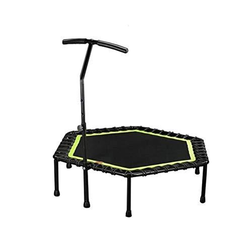 LBWT Fitness Trampolines - Home Adult Draagbare Trampoline Veiligheidsbalans Body Trampoline Afvallen Bungee Springen Bed Met Hulparmleuningen Outdoor Indoor Dames Kinderen